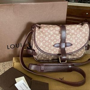 Auth Louis Vuitton limited edition Idylle saumur